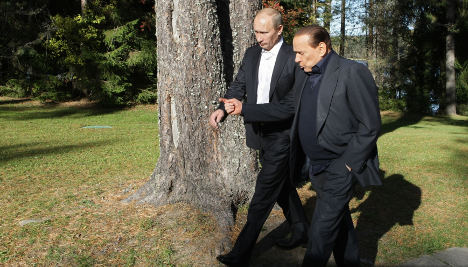 Isolated Putin seeks sympathetic ear in Italy
