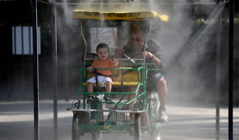 Italy continues to sizzle in heatwave
