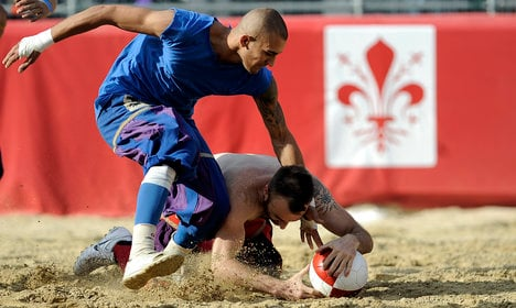 IN PICS: Is this Italy's most violent sport?