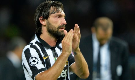 Pirlo leaves Juventus for New York City