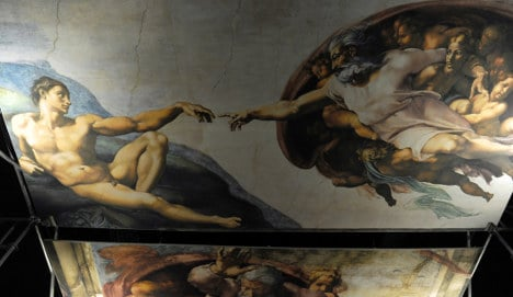 Sistine Chapel recreated in Montreal - in photos