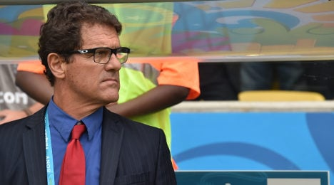 Capello sacked from Russian national team