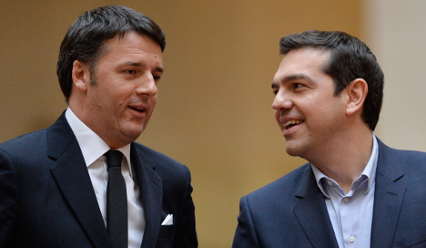 Renzi calls for Greece talks to focus on growth