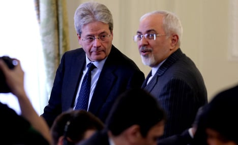 Nuclear deal 'positive' for Iranian people: Italy FM