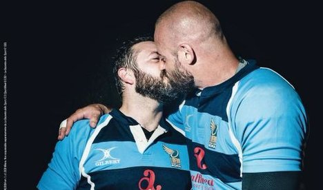 Backlash over sports mag's gay front cover