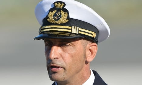 Italian marine gets six more months at home