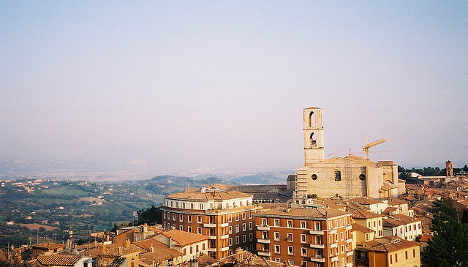 American student falls from window in Perugia
