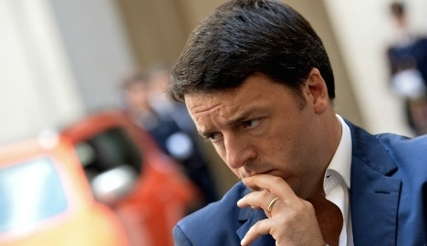 Renzi defends reforms as jobless rate rises