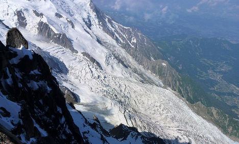 Italy's heatwave is melting glaciers faster