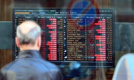 Milan stocks plunge over China economy fears