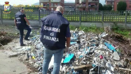 Illegal toxic waste dump found outside Turin