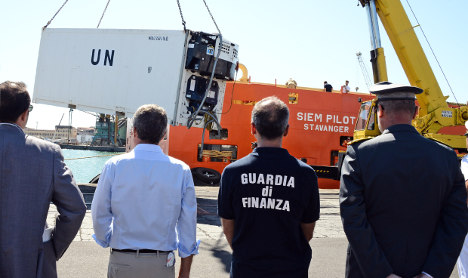 Med's latest death cargo comes ashore in Sicily