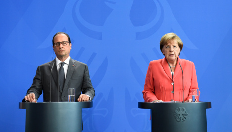 Italy and Greece must act now on migrants: Merkel