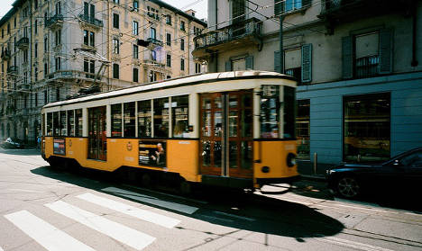 Australian in coma after being hit by tram in Milan