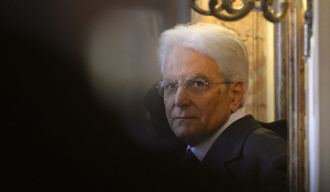 Italy's president cuts luxury housing for staff