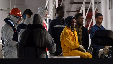 Italian found with 33 Syrian refugees in van