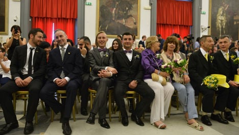 Italy to approve civil union bill by year end