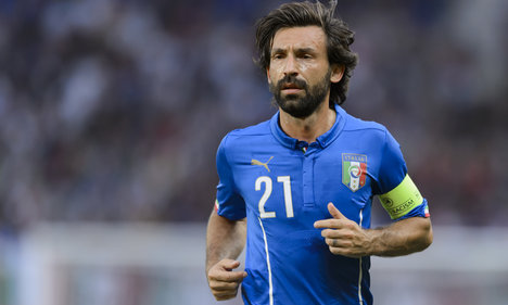 Italy ponder Pirlo on way to Euro 2016 finals