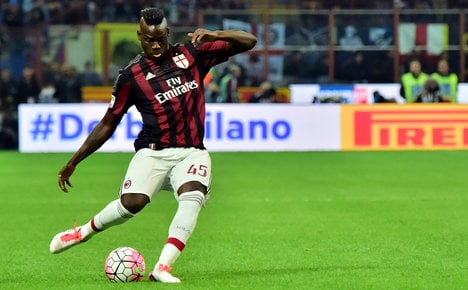 Balotelli off the mark as Milan win at Udinese