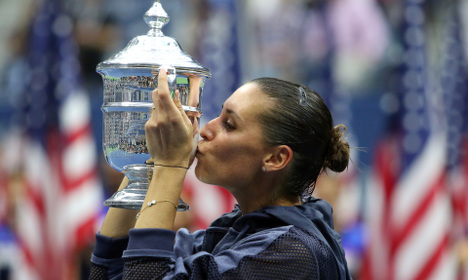 Pennetta wins US Open and then retires