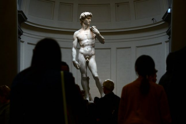 Italy bans commercial use of Michelangelo's David to fight Florence ticket touts