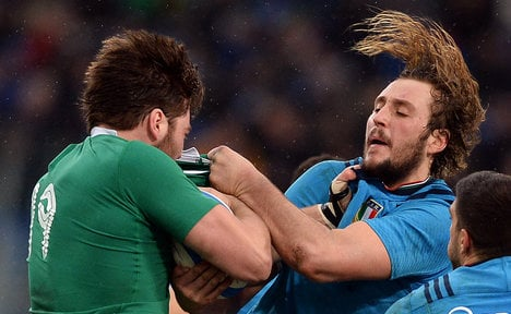 Italy eliminated as Ireland book quarter final place