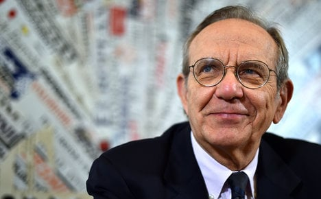 Italian recovery strong and continuous: Padoan