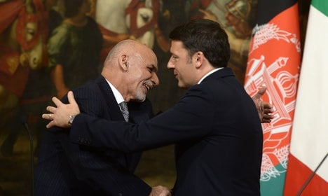 'Italy will stay in Afghanistan': Renzi