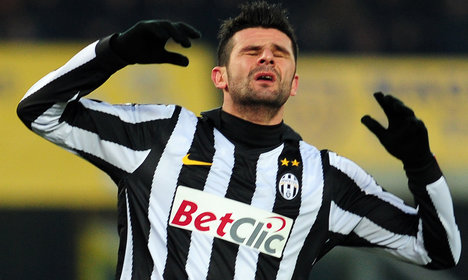 Italy soccer star to stand trial for mafia ties