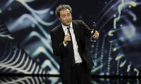 Sorrentino scoops three awards for 'Youth'