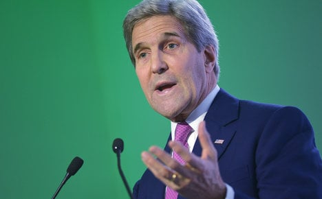 Kerry to co-chair Libya talks in Rome on Sunday