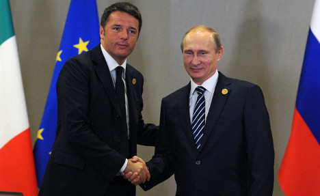 Italy stalls extension of sanctions against Russia
