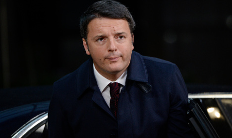 Politician sparks outrage over Isis 'joke' at Renzi