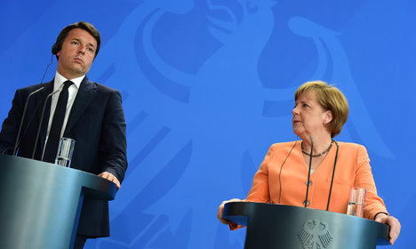 Germany-Italy clash ends year of crisis for EU