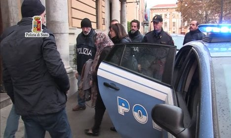 Italian researcher held on terror charges