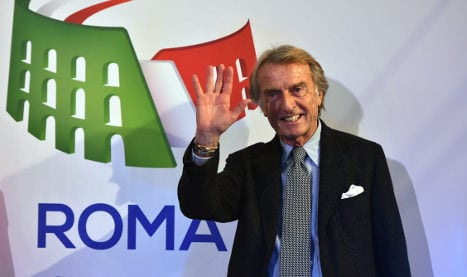 Ex-Ferrari boss vows to bring Olympics to Rome