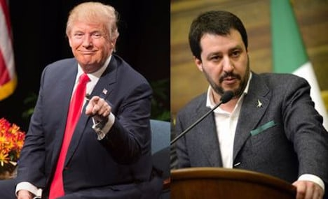 'Donald Trump is a hero': Italy's far-right leader