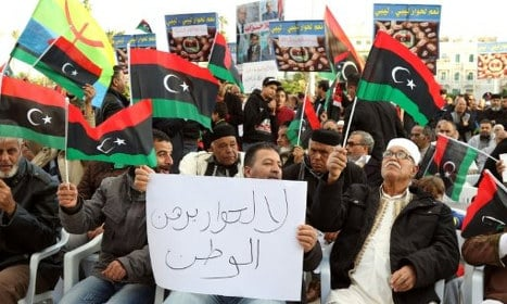 US and Italy to meet to push Libya peace deal