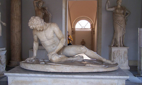 Rome's nude statues covered to spare Rouhani's blushes