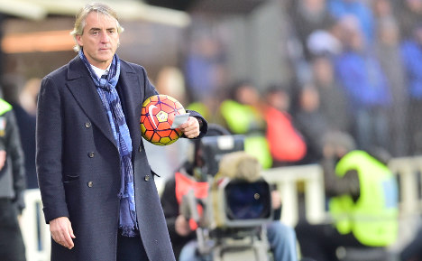 Mancini blasts 'racist' rival who called him a 'poof'