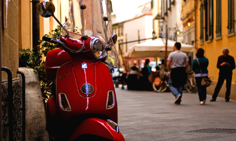 Fury as scooters banned in the Italian birthplace of Vespa