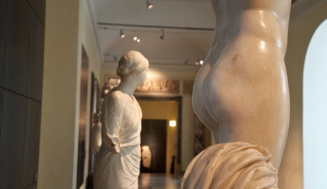 The statues Italy doesn't want Hassan Rouhani to see