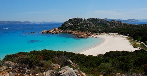 Hands off! School kids try to buy paradise island for Italy