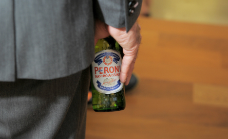 Beer for billions: Japanese brewer wants Italy's Peroni