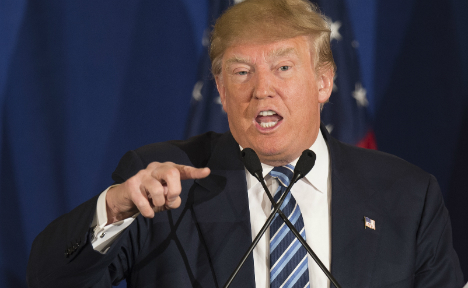 Donald Trump slams Pope for 'disgusting' Christian jibe