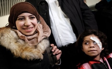 Syrian cancer kid first to use Italy humanitarian corridor