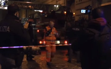 British student among those hurt in Naples gas explosion