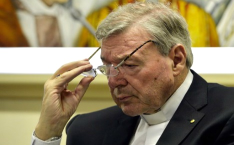 Vatican finance chief denies sexually abusing boys