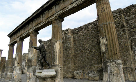 Tourists in their millions are 'wearing out Pompeii'