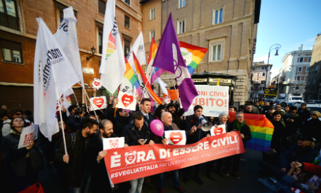 Church told to butt out of Italian gay unions debate